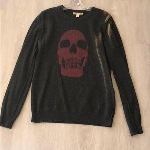 Autumn Cashmere- Sz:S- 100% Cashmere- Skull image